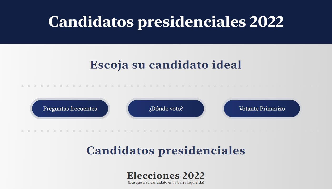 Imagen prevista de nota candidatos 2022