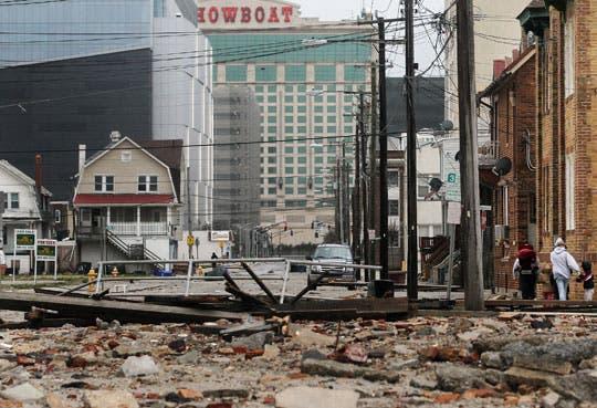 Cierran dos plantas nucleares por paso de Sandy