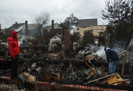 Suben a 29 los fallecidos en EEUU por Sandy