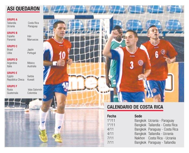Futsala vive su mundial