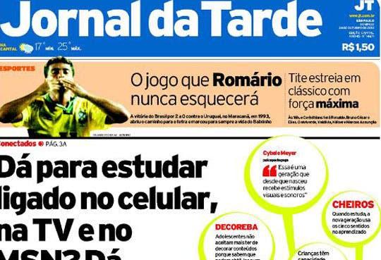 Cierra diario brasileño Jornal da Tarde