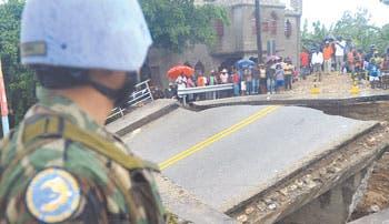 """""""Sandy"""" deja destrucción en el Caribe"""