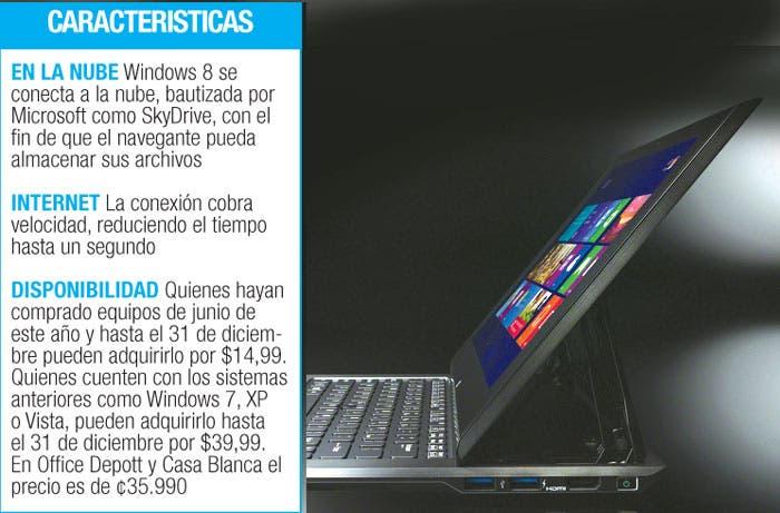 Windows 8 muestra sus atractivos