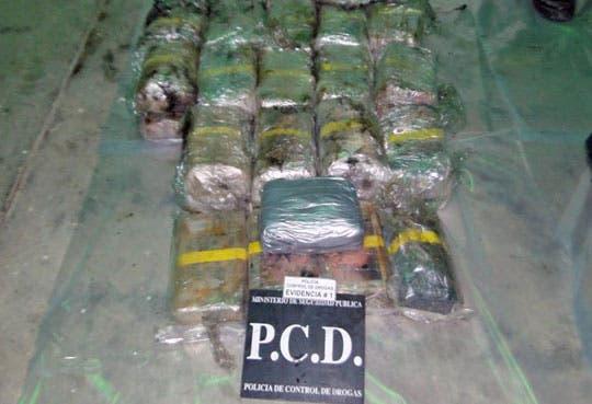 Capturan cabezal con 89 kilos de cocaína