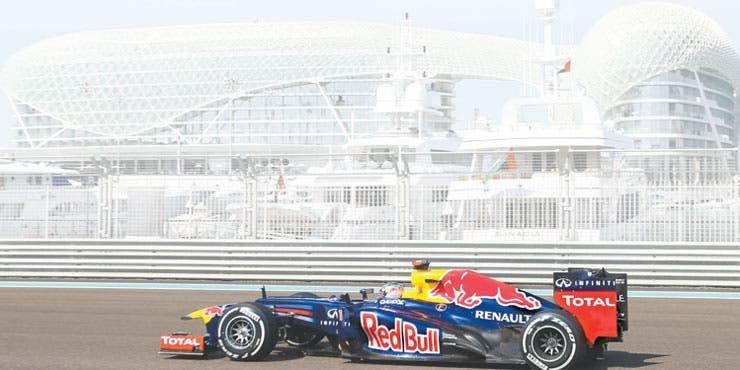 Vettel manda en Abu Dabi