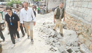 Haití en riesgo a causa de Sandy