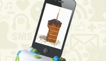 Apertura celular: Feliz cumpleaños