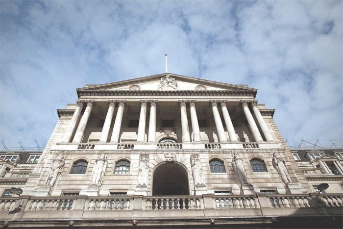 Reflexión por errores en Banco de Inglaterra