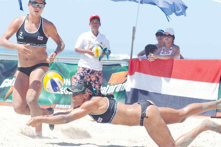 Voleibol en Manuel Antonio