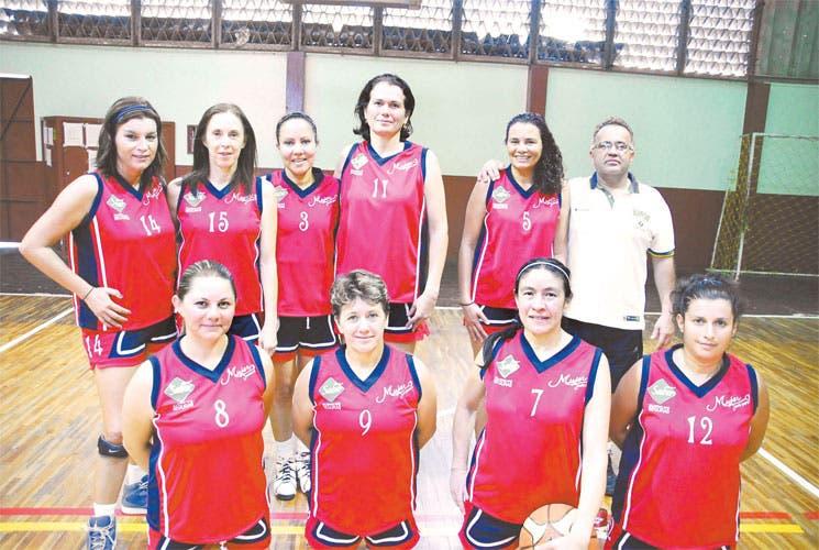 Costa Rica a C.A. Maxibaloncesto
