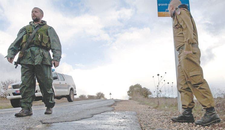Israel hace disparos de advertencia a Siria
