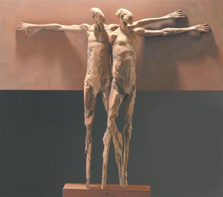 Cuerpos con piel de bronce