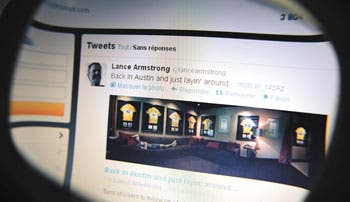 Armstrong rompe con Livestrong