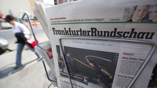 Prestigioso diario alemán se declara insolvente