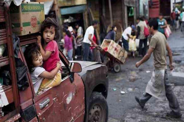 Aumenta a  25 mil los damnificados en Guatemala