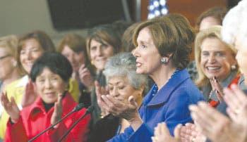 Seguirá Pelosi liderando en Cámara