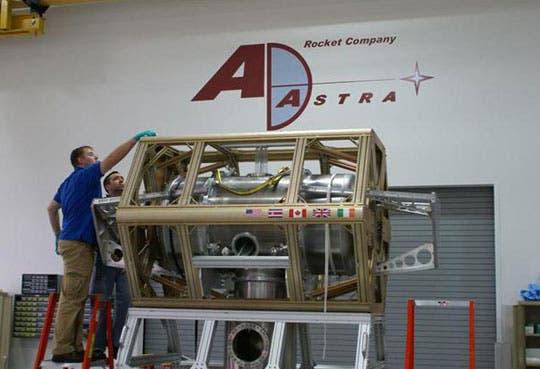 Ofrecen comprar acciones de Ad Astra Rocket