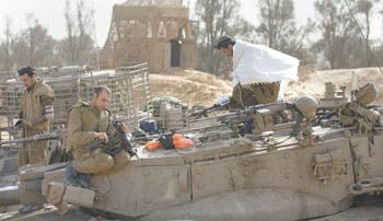 Temible invasión terrestre en Gaza