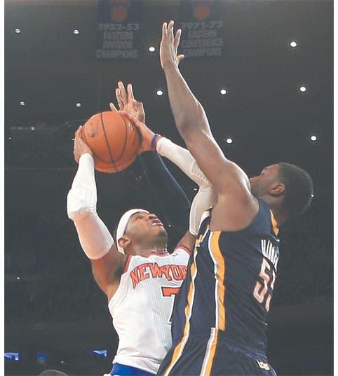 Knicks recupera camino