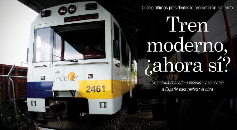 Tren moderno, ¿ahora sí?