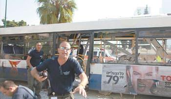 Atentado terrorista en Tel Aviv