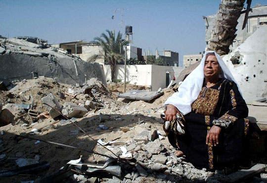 Gaza celebra su victoria sobre Israel