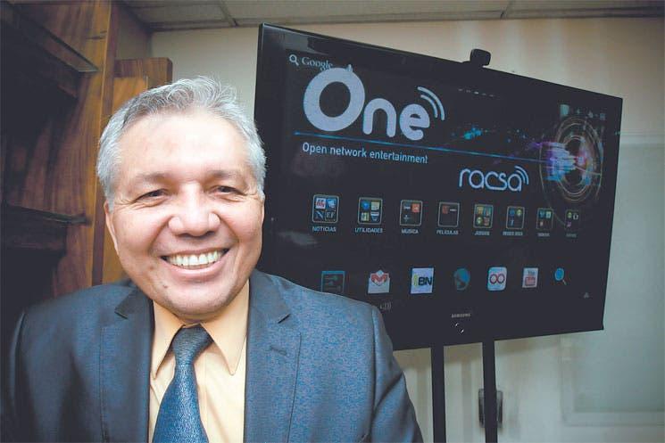 TV será el nuevo negocio de Racsa