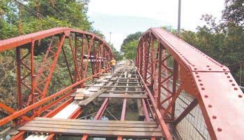 Puente Real de Liberia abrirá en enero
