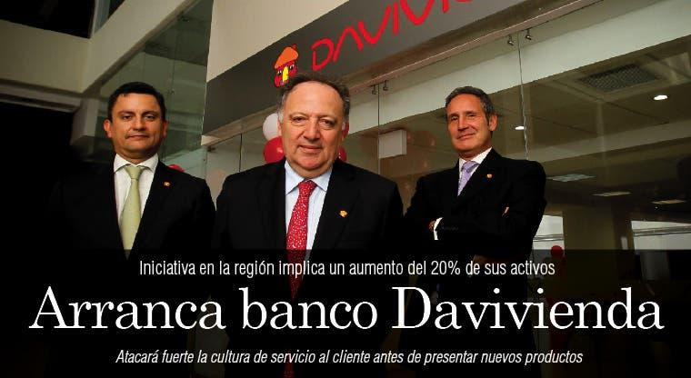 Arranca banco Davivienda
