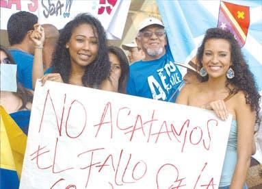 Analiza Santos retiro de CIJ