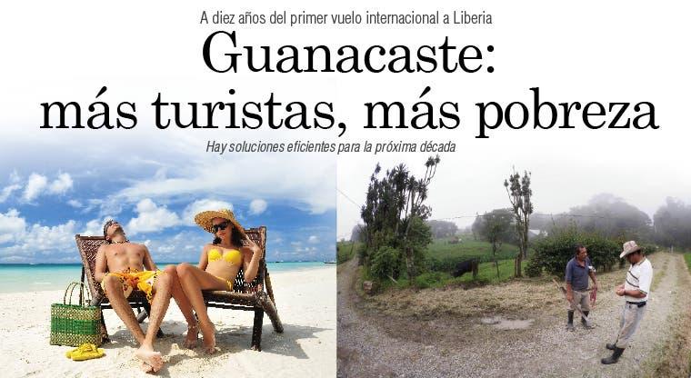 Guanacaste: más turistas, más pobreza