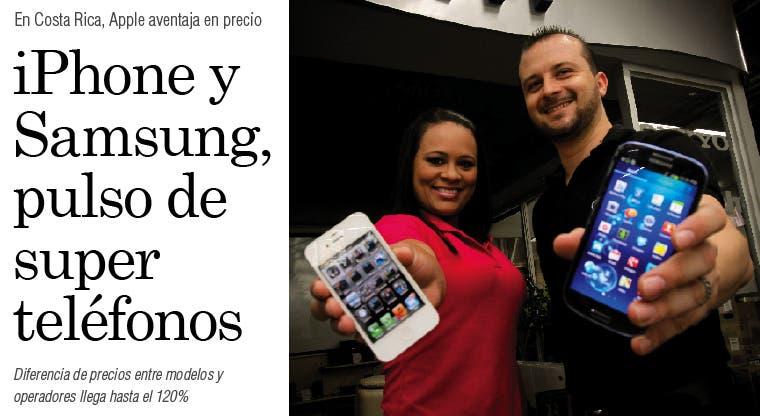 iPhone y Samsung, pulso de superteléfonos