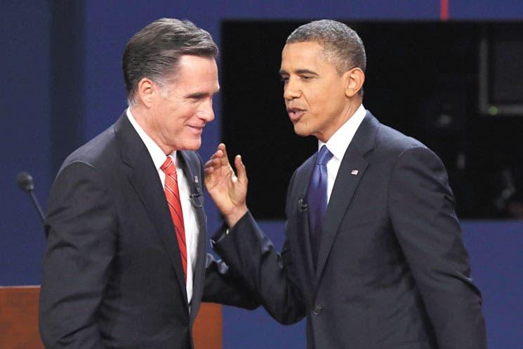 Discuten Obama y Romney liderazgo de EE.UU.