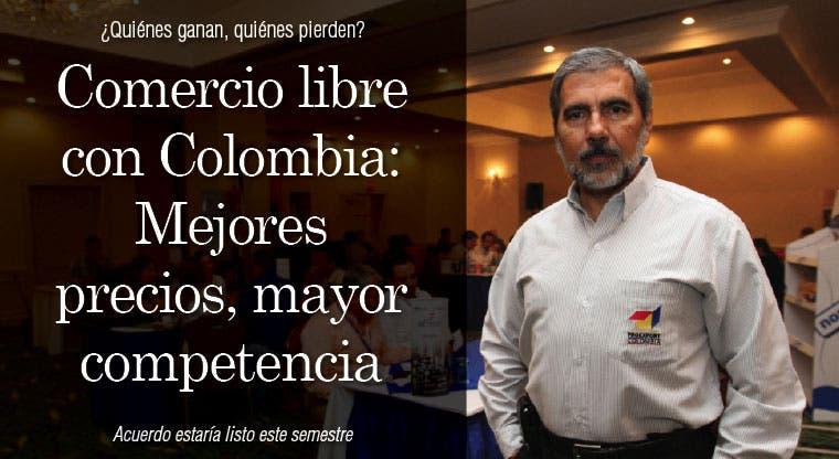 Comercio libre con Colombia:  Mejores precios, mayor competencia