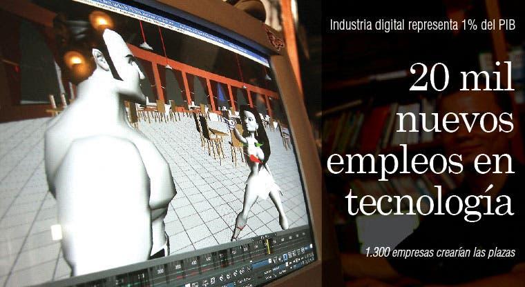 20 mil nuevos empleos en tecnología