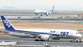 Trasladan a Boeing controles del 787