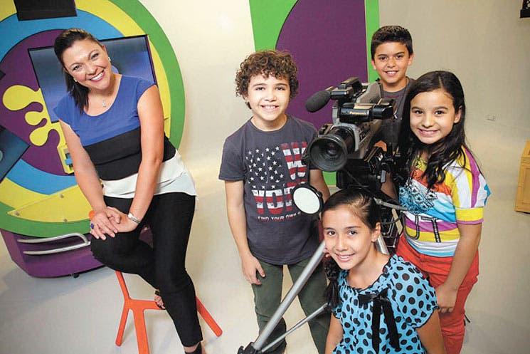 Televisión invita a los niños a jugar