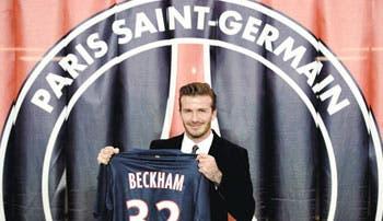 Beckham escogió París