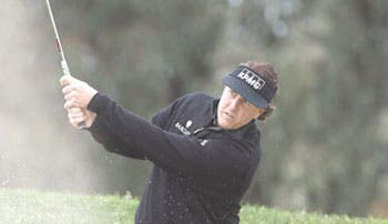 Mickelson espectacular
