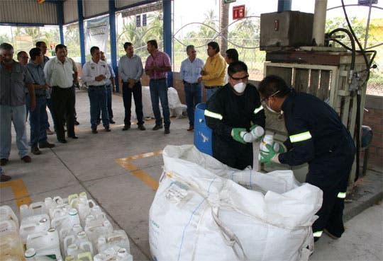 Aumenta reciclaje de envases agroquímicos