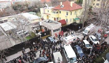 Atentado suicida contra embajada de EE.UU. en Turquía