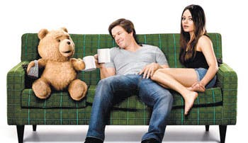 """Wahlberg y """"Ted"""" en los Óscar"""