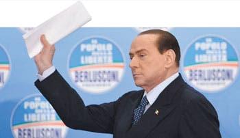 Berlusconi espanta a inversores