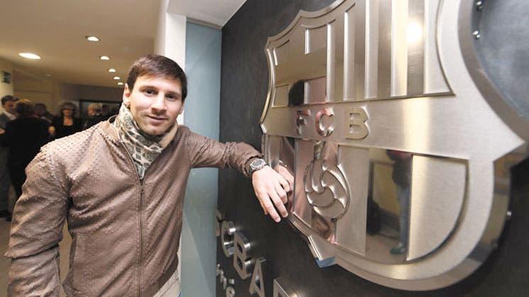 Messi, azulgrana hasta 2018