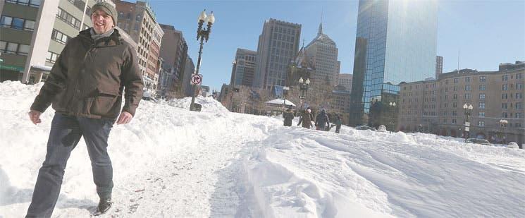 Emergencia tras tormenta de nieve