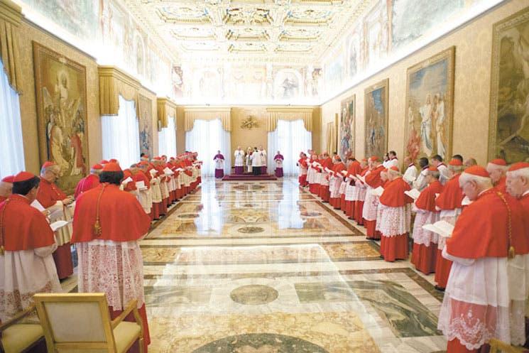 Cóncalve en la mira tras renuncia del Papa