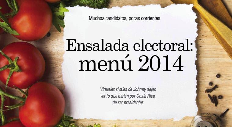 Ensalada electoral: menú 2014