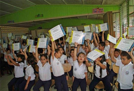 Gobierno alcanza meta en educación