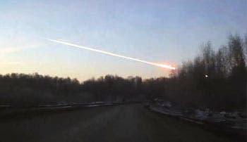 Caída de meteorito siembra pánico