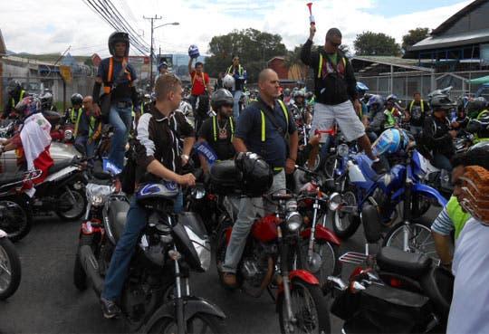 Rechazado recurso sobre marchamo de motociclistas